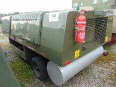 90 KVA (72KW) HOUCHIN CTPU GENERATOR C/W LEADS- 3777 HOURS FROM RAF RESERVE