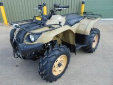 2009 Military Specification Yamaha Grizzly 450 4 x 4 ATV Quad Bike Complete with Winch ONLY 87 HOURS