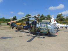 GAZELLE AH1 TURBINE HELICOPTER FROM UK MINISTRY OF DEFENCE
