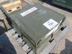 AIRCRAFT TURBINE ASSEMBLY AS SHOWN FROM RAF IN TRANSIT CASE