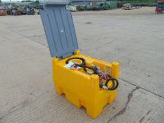 Unused DTK 240L Mobile Diesel Tank C/W 12v Fuel Pump, Nozzle, Hose etc