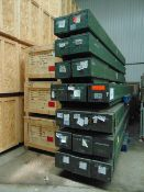 18X SEA KING MAIN ROTOR SHAFT ASSEMBLIES IN TRANSIT CASES FROM R.A.F.