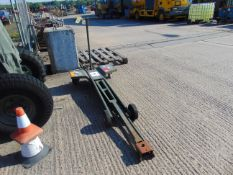 High Lift Steinbock Hydraulic Trolley Jack as Shown