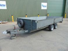 Graham Edwards 3500 kgs Car/ Plant Trailer c/w Ramps, Drop Down Sides etc