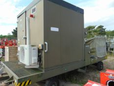 MOBILE JET ENGINE TEST FACILITY, AIR CONDITIONED C/W ALL CONTROLS, MANUALS, STEPS, ETC