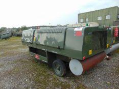 90 KVA (72KW) HOUCHIN CTPU GENERATOR C/W LEADS- 2037 HOURS FROM RAF RESERVE