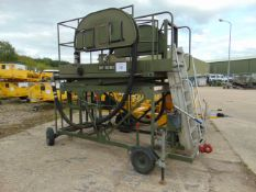 Hydraulic Access Platform for Refuelling Aircraft c/w Twin Refuelling Hoses etc from RAF