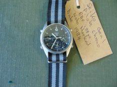 Seiko Gen 1 Pilots Chrono RAF issue Nato Marked Date 1984