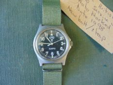 UNISSUED CWC W10 British Army Service Watch Nato Marked Date 2005, Waters proof to 5 ATM, New balt