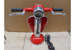 VESPA SCOOTER TABLE LAMP 40CMS X 40CMS
