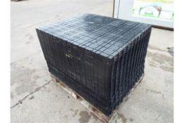 Pallet of Rola Trac Interlocking Flooring