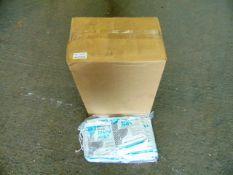100 x Unissued Brief Relief Disposa-John - Mobile Toilet Packs