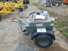 Aircraft Battery Electrical Starter Trolley c/w Batteries and Cables. From RAF