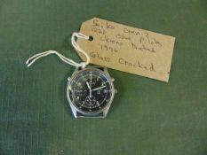 Very Rare Seiko Gen 2 RAF issue pilots Chrono watch