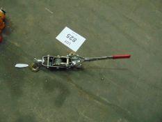 Manual Ratchet Lift as Shown