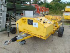 Nitrogen Single Axle Servicing Trolley with Brakes etc. from RAF