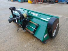 Major MT24-280 Tractor Mounted Flail Mower With Hydraulic Side Shift.