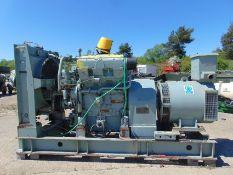 ECC 150 KVA 3 phase Diesel Generator Ex British Telecom ONLY 1189 HOURS!