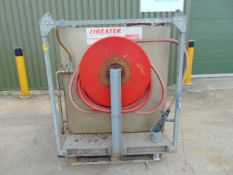 700L Fireater AFFF (Aqueous Film-Forming Foam) Tanks c/w 2 x 10m Fire Hose Reels