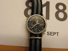 Seiko Gen 1 Pilots Chrono RAF Issue Nato Marked Dated 1989
