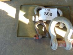 4x Very HD Recovery D Shackles as Shown