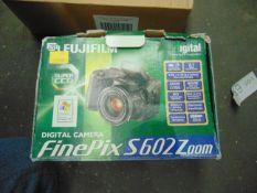 FinePix S602 Zoom Digital Camera c/w Manuals, Leads etc