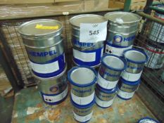 6x 17.5 litre Drums of Hempels 47182 Gray anti corrosive 2 pack Gray paint