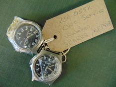 2x CWC Service Watches Spares Repair