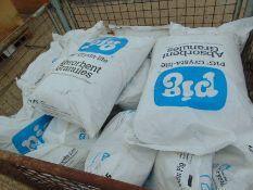 15 bags of PIG Crysta-lite absorbant granules