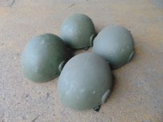 4 x British Army GS MK.6 combat helmets