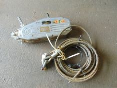 Tractel TU32 tirfor winch, with winch rope