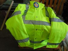 Dickies Waterproof Hi-Viz Jacket, with quilted lining, new and unused