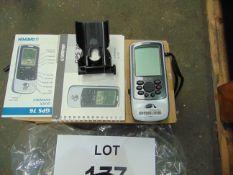 Garmin GPS c/w Manuals Vehicle Moout tec from MoD