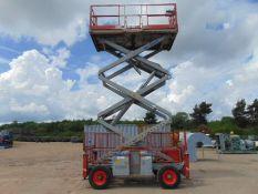 SkyJack SJ8831 Rough Terrain Diesel Scissor Lift ONLY 1,926 HOURS!