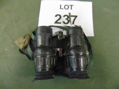 L12A1 BRITISH ARMY SELF FOCUSING BINO'S 7X 42 MAG. C/W FILTERS