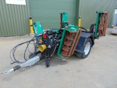 Ransomes TG3400 Trailed Hydraulic Gang Mowers ( 5 Deck ) from Council