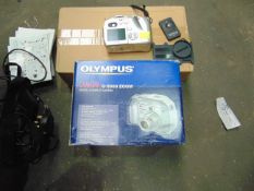 Olympus C5000 Zoom Digital Camera c/w charger, manuals, leads, etc from MoD