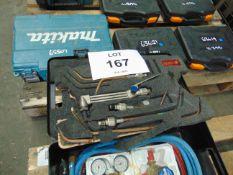 Murex Light Weight gas welding and cutting kit in case
