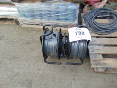 2x Cable Reels Unused as Shown