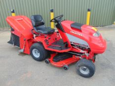Countax C550H Ride On Mower with grass collector