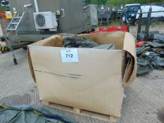 1x Tri Wall Box of Lynx Helicopters Water proof Covers as shown Approx 50+/- from RAF