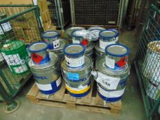 6x 20 litre Drums of Hempels Nexus 11 27400 3 pack Antifouling coating c/w thinners etc.MoD Reserve