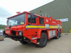 Carmichael International MFV 2, Airfield 6x6 Crash Tender 2014 Fitted with 700hp Cat c18 engine.