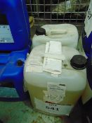 2X 25 LITRES DRUMS OF WATER BASED FLOCCULATING FLUID
