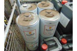 8 x Unissued 20L Drums of Aeroshell Turbine Oil 3 Mineral Based Lubricating Oil