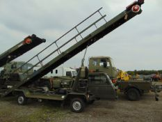 AGSE AIRCRAFT MOBILE CONVEYOR FROM RAF RESERVE