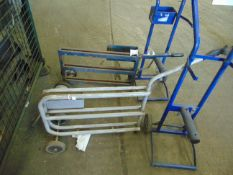 4x Strapping & Packing Systems Trolleys etc