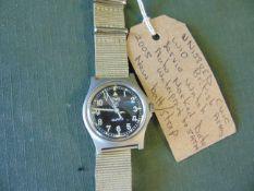CWC British Army W10 Service Watch Nato marked Date 1998, New balt / Strap