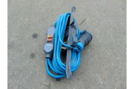 240v POWER LEAD WITH TESTER AND PLUG ADAPTOR