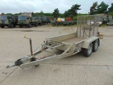 Indespension 2.25 Tonne Twin Axle Plant Trailer c/w Ramps
